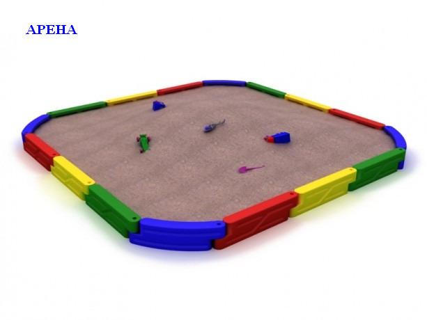 Песочница из пластика