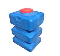 Прямоугольная пластиковая емкость для воды, топлива и агрессивных сред (кислот, щелочей)
