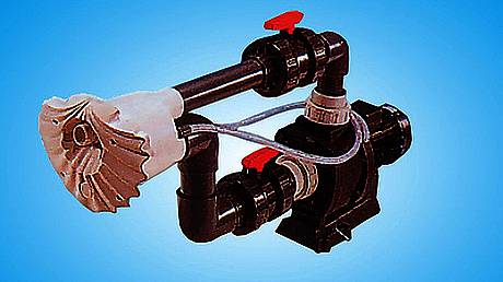 Устройства принудительно течения воды и гидромассажа