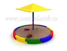 Пластиковый детский игровой комплекс