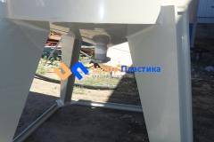 Фото №1. Емкость с коническим дном (бункер БДС) Germes-Plast БДС 8 000 ПП. (Вид 1)