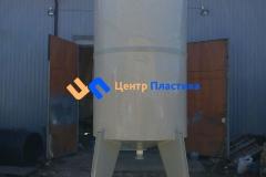Фото №2. Емкость с коническим дном (бункер БДС) Germes-Plast БДС 8 000 ПП. (Вид 2)