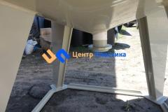 Фото №3. Емкость с коническим дном (бункер БДС) Germes-Plast БДС 8 000 ПП. (Вид 3)