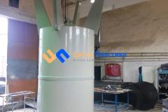 Фото №4. Емкость с коническим дном (бункер БДС) Germes-Plast БДС 8 000 ПП. (Вид 4)