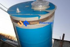 Фото №4. Емкость-бункер для обработки концентрата на 2 м3. (Вид 4)