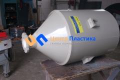Фото №1. Полипропиленовая воронка Germes-Plast БДС 350 ПП. (Вид 1)