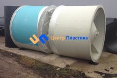 Фото №2. Емкость с коническим дном (бункер) Germes-Plast БДС 2000. (Вид 2)