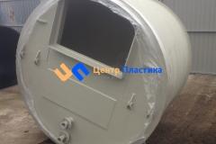 Фото №4. Емкость с коническим дном (бункер) Germes-Plast БДС 2000. (Вид 4)