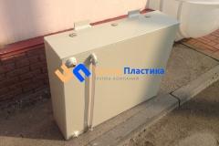 Фото №3. Бак из ПП на 250 литров с уровнемером для питьевой воды. (Вид 3)
