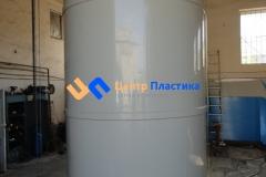 Фото №3. Емкости из ПП Ø 1500 Н 4500 мм на 8 м3 для питьевой воды. (Вид 3)