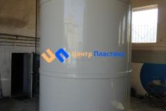 Фото №4. Емкости из ПП Ø 1500 Н 4500 мм на 8 м3 для питьевой воды. (Вид 4)