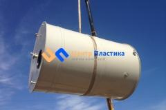Фото №3. Емкость из ПП на 15 м3 Джурби для дисцелерованной воды. (Вид 3)