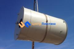 Фото №4. Емкость из ПП на 15 м3 Джурби для дисцелерованной воды. (Вид 4)