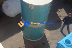 Фото №1. Емкость из ПП на 3м3 1200х3000мм (техн. вода). (Вид 1)
