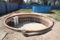 Фото№3 Подготовленное место для установки бассейна