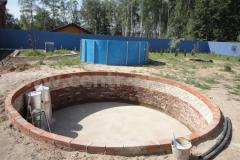 Фото№4 Подготовленное место для установки бассейна