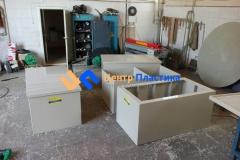 Фото №3. Емкости с крышкой для очистных сооружений. (Вид 3)