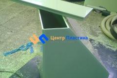 Фото №2. Емкость трапецевидная для раздачи питьевой воды в домах. (Вид 2)