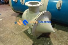 Фото №3. Емкость-сепаратор для рафинации растительного масла. (Вид 3)