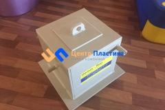 Фото №1. Бак для системы фильтрации щелочного раствора. (Вид 1)