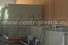 Фото №5. Оборудование для малькового цеха (оксигенатор и биореактор)