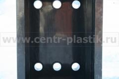 Фото 4. Бак-усреднитель с 6-ю фланцами диаметром 225 мм (вид изнутри)