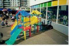 детские спортивные уличные игровые комплексы