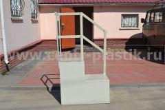 Фото №1. Пластиковая лестница