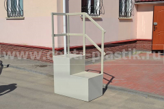 Фото №2. Пластиковая лестница