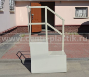 Фото №4. Пластиковая лестница