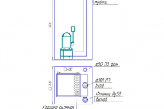 Схема мини КНС (сололифт)