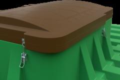 Крышка погреба в закрытом состоянии