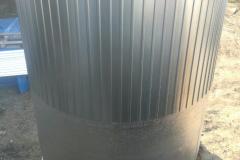 Фото полипропиленовой емкости для питьевой воды до 70 градусов, на 15 м³ Ø2400 Н 3400 утепление верхней части емкости (дата 10.09.19)