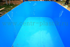 Чаша бассейна 4500x2500x1500 мм