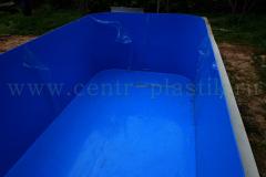 Чаша бассейна 4500x2500x1500 мм 1