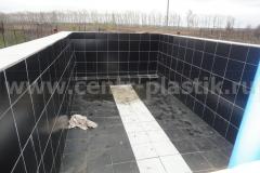 Фото бетонного бассейна до облицовки (вид 1)