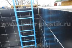 Фото бетонного бассейна до облицовки (вид 2)