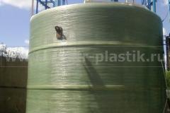 Фото №1. Емкости большого диаметра из стеклопластика