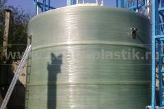 Фото №5. Емкости большого диаметра из стеклопластика