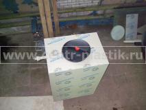 Фото. №2 Накопительный бак с крышкой на 1000 литров для хранения воды