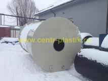 Фото №1. Емкость накопитель объемом 24 м3 для стационарного хранения горячей воды (ГВС)