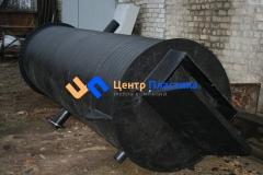 Полиэтиленовая насосная станция для перекачки ливневых стоков (ЛНС) производительностью 12 м³час и напором до 40 м