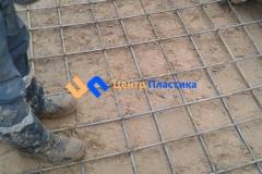 Вязка арматуры для бетонного основания