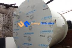 Емкость для горячей воды Germes-Plast Ц 5000 ГВС (вид на с торца)