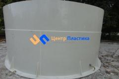 Общий вид резервуара для питьевой воды