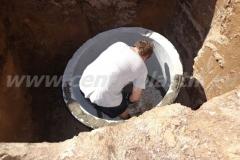 Фото №12 Раствор для состыковки бетонных колец