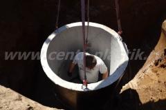 Фото №14 Установка второго жб кольца для КНС