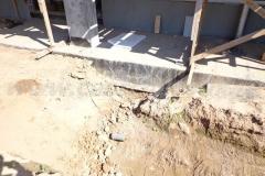 Фото №2 Место выхода центральной канализационной трубы