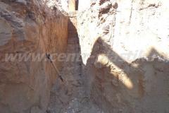 Фото №42 Траншея под поле фильтрации