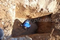 Фото №55 Песчаная подушка под систему очистки Астра 10